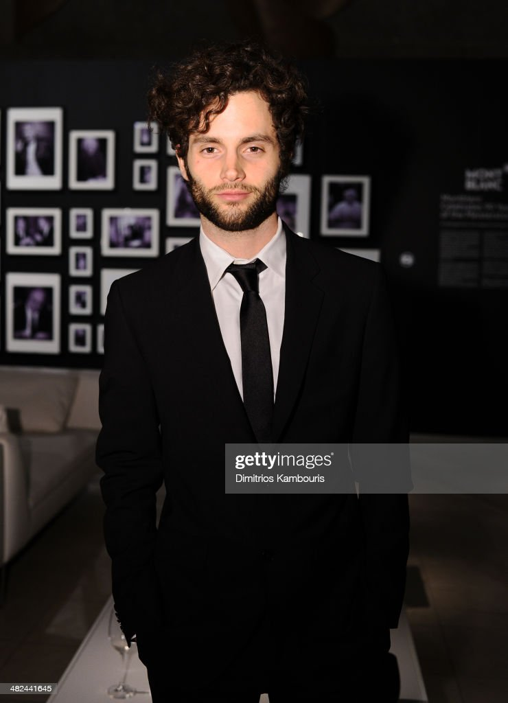 Actor Penn Badgley attends Montblanc Celebrates 90 Years of the Iconic Meisterstuck on April 3, 2014 at Guastavino's in New York City.