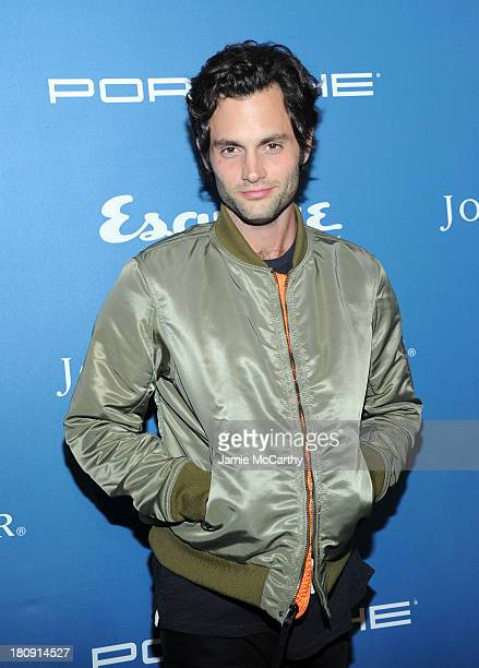 Actor Penn Badgley attends the Esquire 80th anniversary and Esquire Network launch celebration at Highline Stages on September 17 2013 in New York...