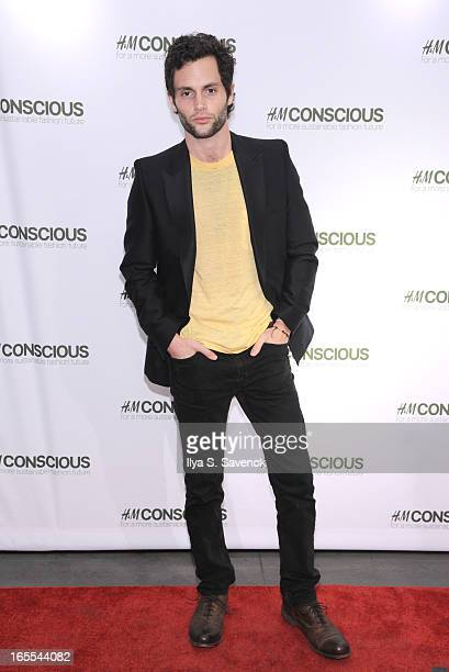 Actor Penn Badgley attends the HM's Conscious Collection Launch Event at HM Fifth Avenue on April 4 2013 in New York City