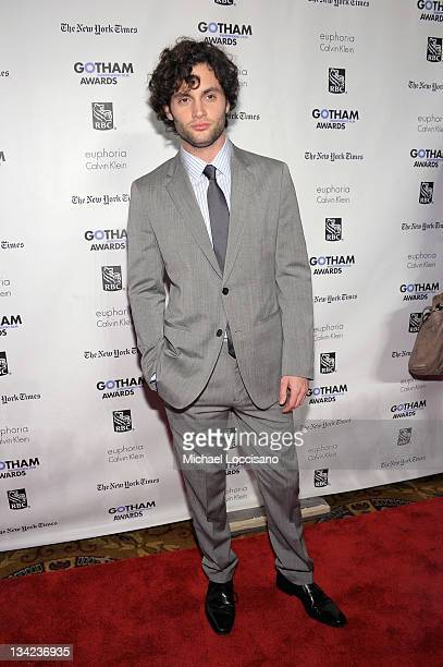 Actor Penn Badgley attends the IFP's 21st Annual Gotham Independent Film Awards at Cipriani Wall Street on November 28, 2011 in New York City.