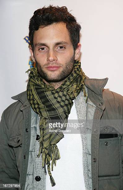 Actor Penn Badgley attends the Tribeca Film Festival 2013 After Party for 'Greetings From Tim Buckley' sponsored by Bombay Sapphire on April 23 2013...