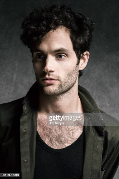 Actor Penn Badgley is photographed at the Toronto Film Festival for Self Assignment on September 10 2012 in Toronto Ontario