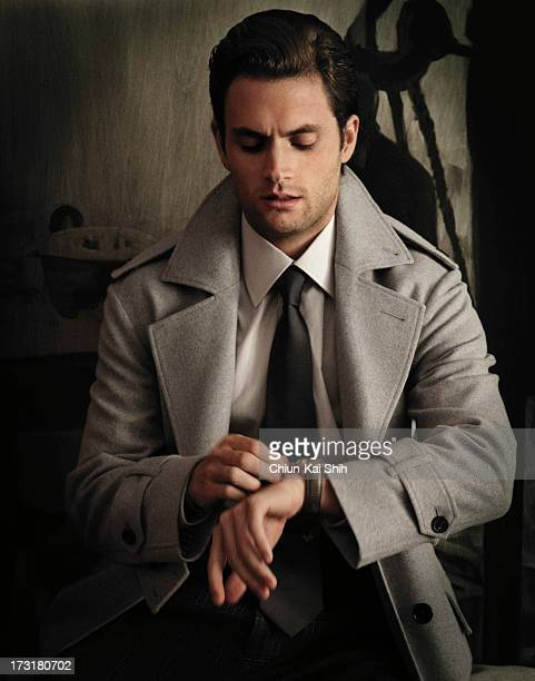 Actor Penn Badgley is photographed for Gotham Magazine on August 13 2011 in New York City PUBLISHED IMAGE