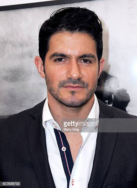 Actor Pepe Gamez attends 'Hindsight Is 30/40 A Group Photographer Exhibition' at The Salon at Automatic Sweat on November 12 2016 in Los Angeles...