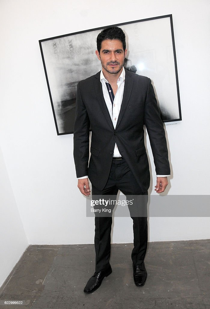 Actor Pepe Gamez attends 'Hindsight is 30/40 - A Group Photographer Exhibition' at The Salon at Automatic Sweat on November 12, 2016 in Los Angeles, California.