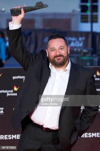 Actor Pepon Nieto attends 'Las Distancias' premiere during the 21th Malaga Film Festival at the Cervantes Theater on April 17 2018 in Malaga Spain