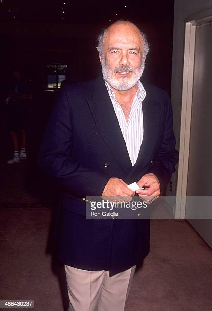 Actor Pernell Roberts attends ABC Summer TCA Press Tour on July 21 1991 at the Universal Hilton Hotel in Universal City California