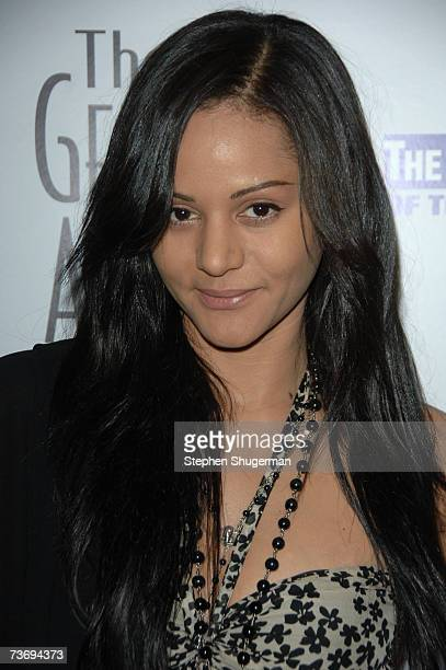 Actor Persia White attends the 21st Genesis Awards presented by The Hollywood Humane Society at the Beverly Hilton Hotel on March 24, 2007 in Beverly...