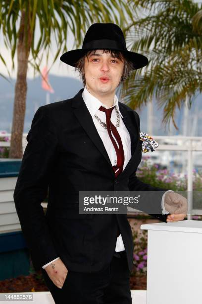 Actor Pete Doherty attends the 'Confession Of A Child' Photo Call during the 65th Annual Cannes Film Festival on May 20 2012 in Cannes France