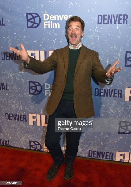 """Actor Pete Gardner from the movie """"Man Camp"""" on the red carpet at the 42nd Annual Denver Film Festival on November 07, 2019 in Denver, Colorado."""