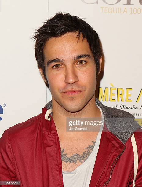 Actor Pete Wentz arrives at the second annual Art Mere/Art Pere Night presented by CORZO Tequila at Smashbox West Hollywood on October 6 2011 in West...