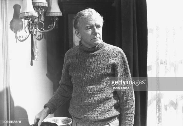 Actor Peter Barkworth in a scene from the television series 'Secret Army' September 13th 1977