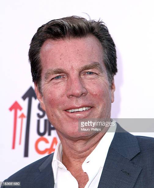 Actor Peter Bergman arrives at CBS After Dark A Evening of Laughter benefiting stand up to cancer at The Comedy Store on October 8 2013 in West...