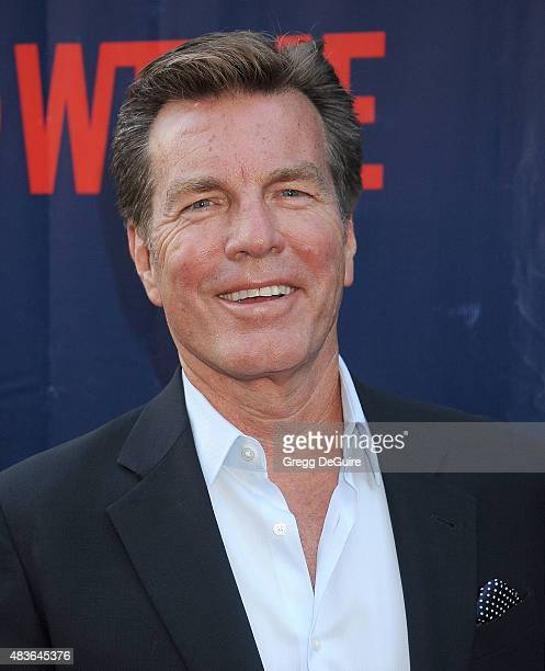 Actor Peter Bergman arrives at the CBS CW And Showtime 2015 Summer TCA Party at Pacific Design Center on August 10 2015 in West Hollywood California
