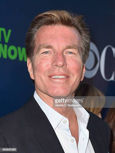 Actor Peter Bergman attends CBS' 2015 Summer TCA party at the Pacific Design Center on August 10 2015 in West Hollywood California