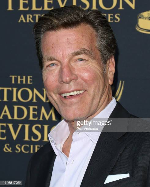 Actor Peter Bergman attends the 2019 Daytime Emmy Awards nominee reception at Castle Green on May 01 2019 in Pasadena California
