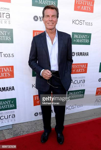Actor Peter Bergman attends the Festival of Arts Celebrity Benefit Event on August 26 2017 in Laguna Beach California