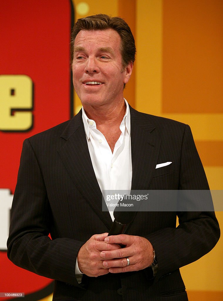 Actor Peter Bergman attends 'The Price Is Right' Daytime Emmys-themed episode taping at CBS Studios on May 24, 2010 in Los Angeles, California.