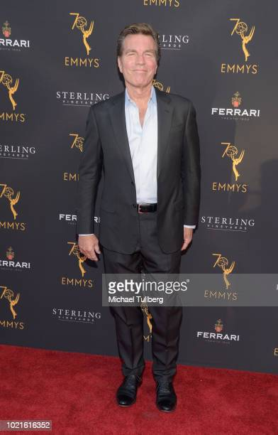 Actor Peter Bergman attends the Television Academy's Daytime Programming Peer Group Reception at Saban Media Center on August 22 2018 in North...