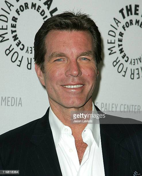 Actor Peter Bergman attends the Young and the Restless 35th Anniversary at the Paley Center on April 10 2008 in Beverly Hills California