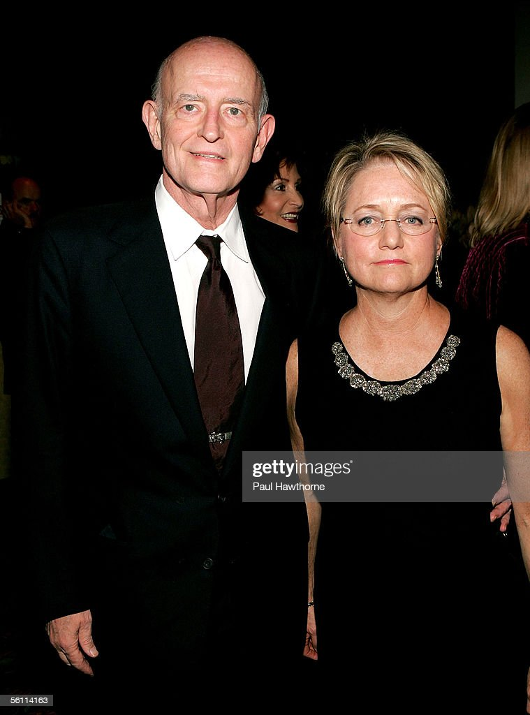 Actor Peter Boyle and wife Loraine Alterman attend the play opening night of 'Jersey Boys' after party at the Marriott Marquis November 6, 2005 in New York City.