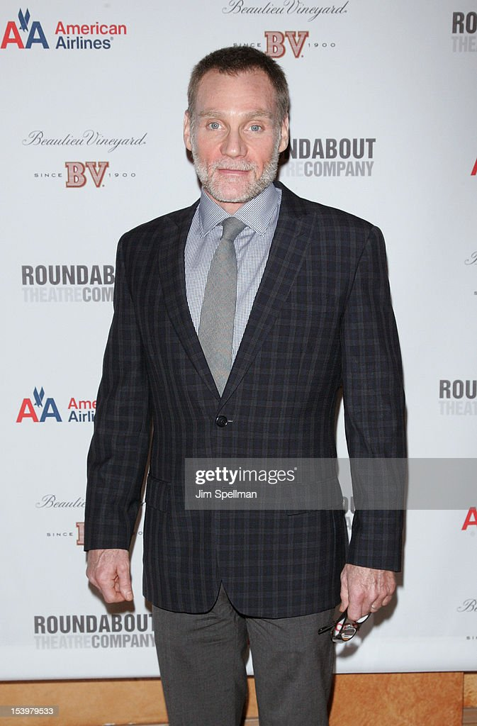 Actor Peter Bradbury attends 'Cyrano De Bergerac' Broadway Opening Night After Party at American Airlines Theatre on October 11, 2012 in New York City.