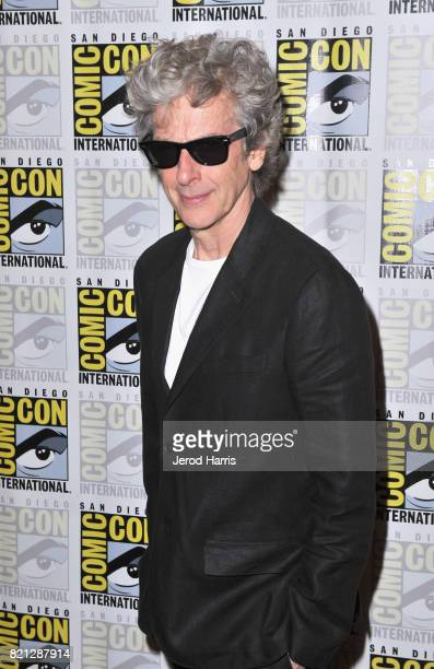 Actor Peter Capaldi at BBC AMERICA'S San Diego ComicCon Press Line with the Stars and Producers of 'Dirk Gently's Holistic Detective Agency' and...