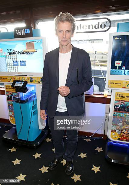 Actor Peter Capaldi attends The Nintendo Lounge on the TV Guide Magazine yacht during Comic-Con International 2015 on July 9, 2015 in San Diego,...