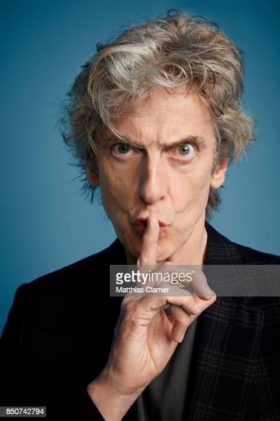 Actor Peter Capaldi from Doctor Who is photographed for Entertainment Weekly Magazine on July 22 2017 at Comic Con in San Diego California PUBLISHED...