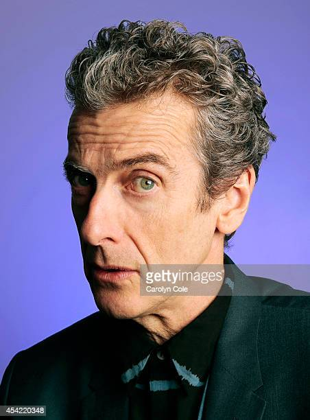 Actor Peter Capaldi is photographed for Los Angeles Times on August 13, 2014 in New York City. PUBLISHED IMAGE. CREDIT MUST BE: Carolyn Cole/Los...