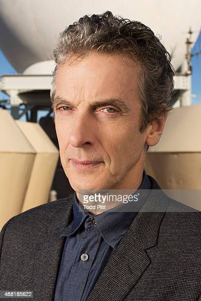 Actor Peter Capaldi is photographed for USA Today on August 15 2014 in New York City