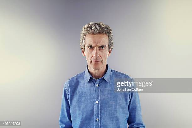 Actor Peter Capaldi is photographed on December 4, 2014 in London, England.
