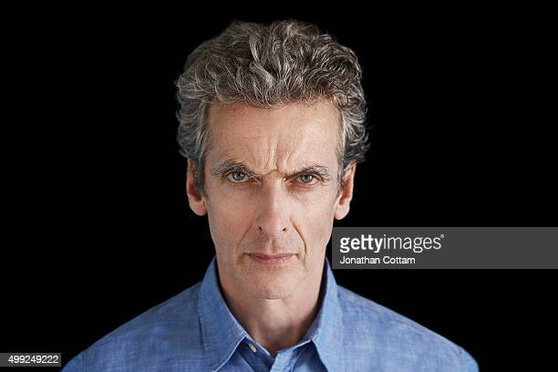 Actor Peter Capaldi is photographed on December 4 2014 in London England