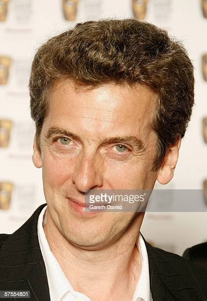 Actor Peter Capaldi poses in the Awards Room at the Pioneer British Academy Television Awards 2006 at the Grosvenor House Hotel on May 7 2006 in...