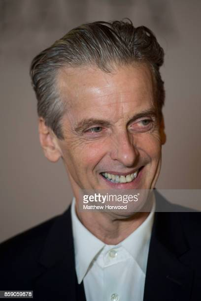 Actor Peter Capaldi who played the Doctor in BBC TV show Doctor Who attends the 26th British Academy Cymru Awards held at St David's Hall on October...