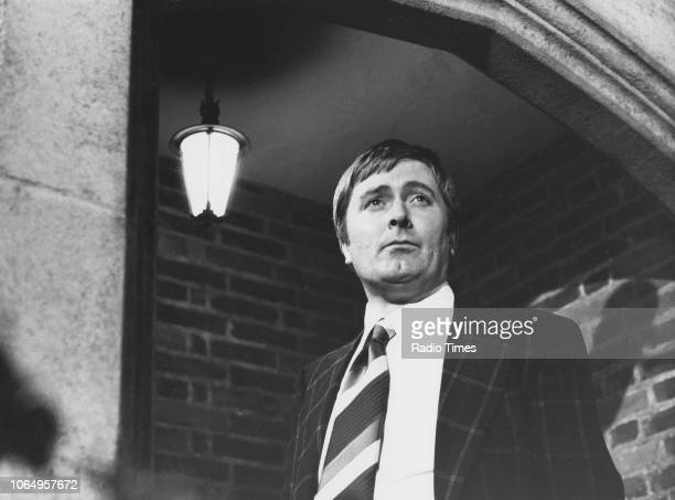 Actor Peter Childs in a scene from episode 'Got Him' of the television series 'Softly Softly Taskforce' October 12th 1976