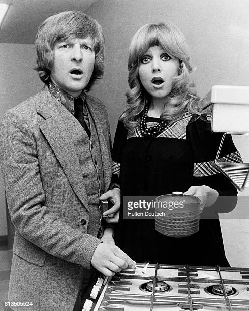 Actor Peter Cleall and Actress Carol Hawkins