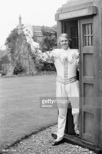 Actor Peter Davison as the 5th Doctor Who seen here at Buckhurst House Withyham East Sussex filming part of the story entitled The Black Orchid 8th...