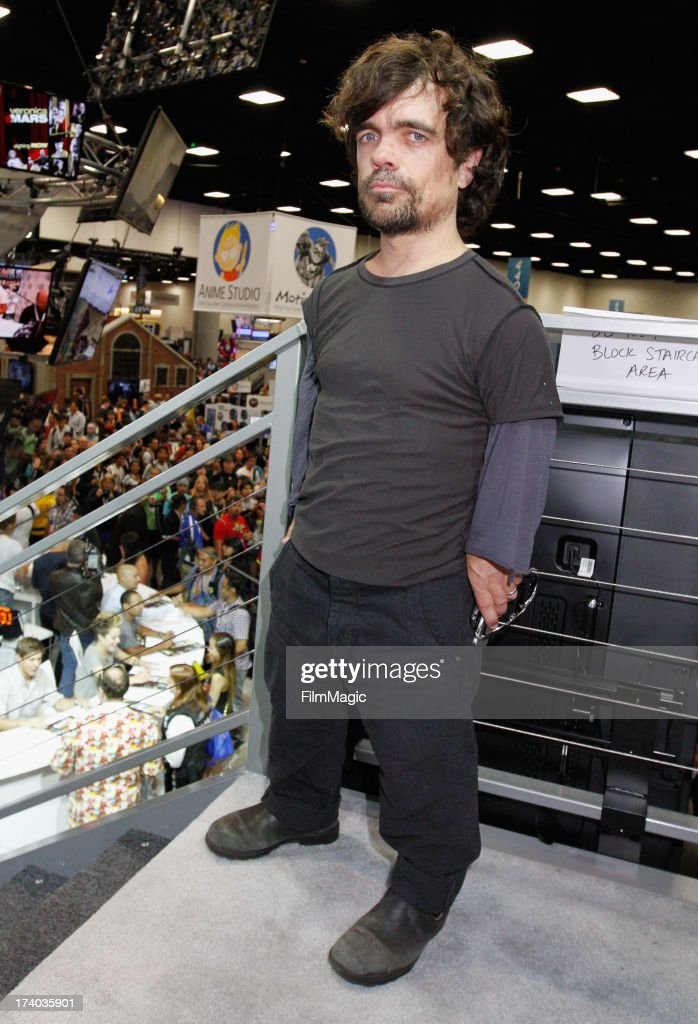 Actor Peter Dinklage attends HBO's 'Game Of Thrones' cast autograph signing at San Diego Convention Center on July 19, 2013 in San Diego, California.