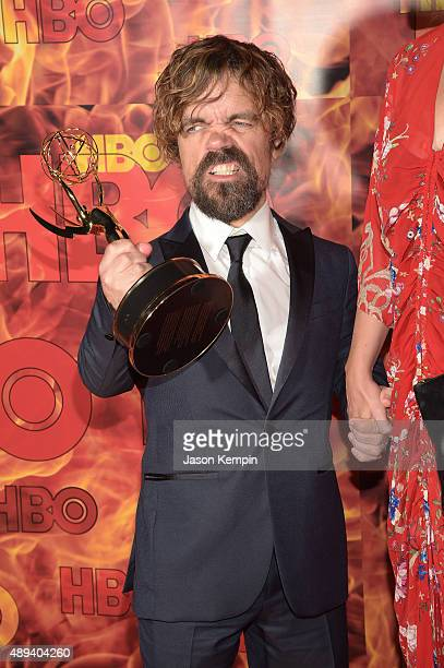 Actor Peter Dinklage attends HBO's Official 2015 Emmy After Party at The Plaza at the Pacific Design Center on September 20 2015 in Los Angeles...