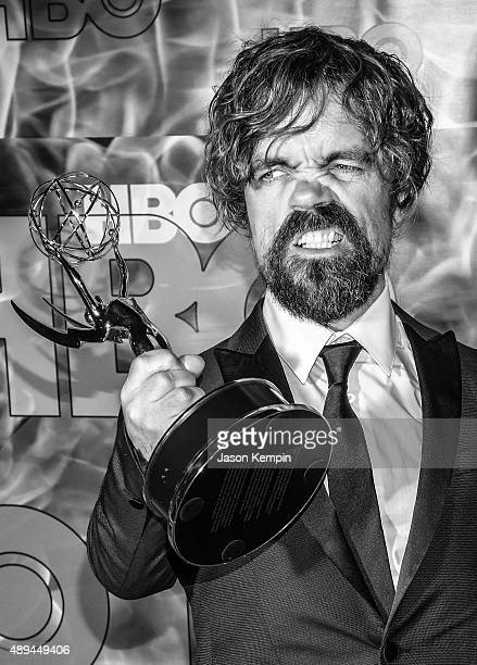Actor Peter Dinklage attends the 2015 HBO Emmy After Party at the Pacific Design Center on September 20 2015 in Los Angeles California