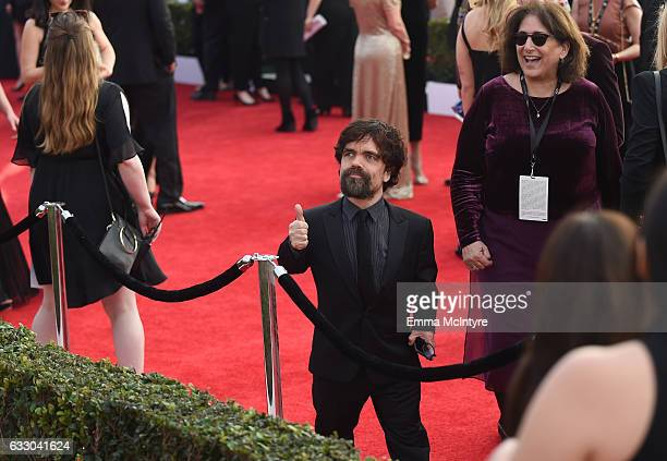 Actor Peter Dinklage attends The 23rd Annual Screen Actors Guild Awards at The Shrine Auditorium on January 29 2017 in Los Angeles California...