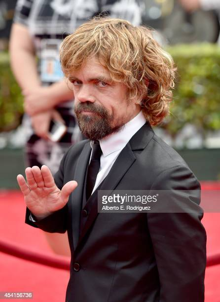 Actor Peter Dinklage attends the 66th Annual Primetime Emmy Awards held at the Nokia Theatre L.A. Live on August 25, 2014 in Los Angeles, California.