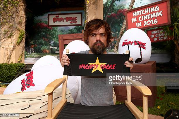 Actor Peter Dinklage attends the 'Angry Birds' photo call during Summer Of Sony Pictures Entertainment 2015 at The RitzCarlton Cancun on June 16 2015...
