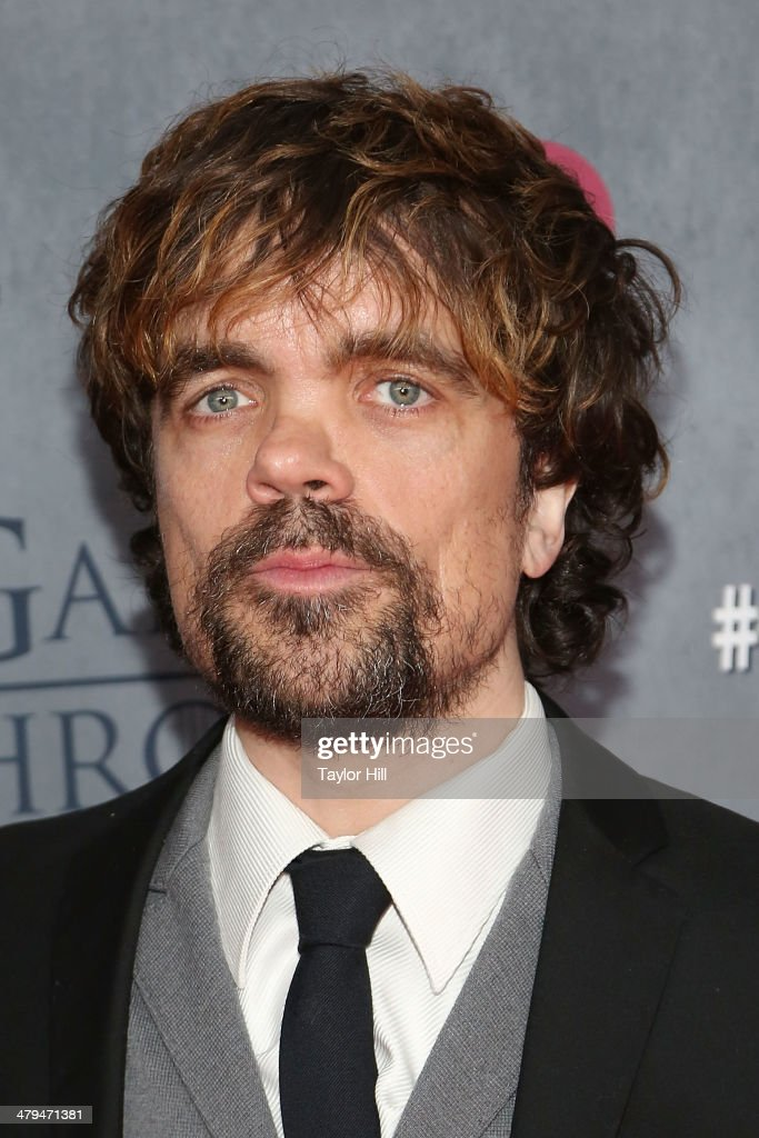 Actor Peter Dinklage attends the 'Game Of Thrones' Season 4 premiere at Avery Fisher Hall, Lincoln Center on March 18, 2014 in New York City.