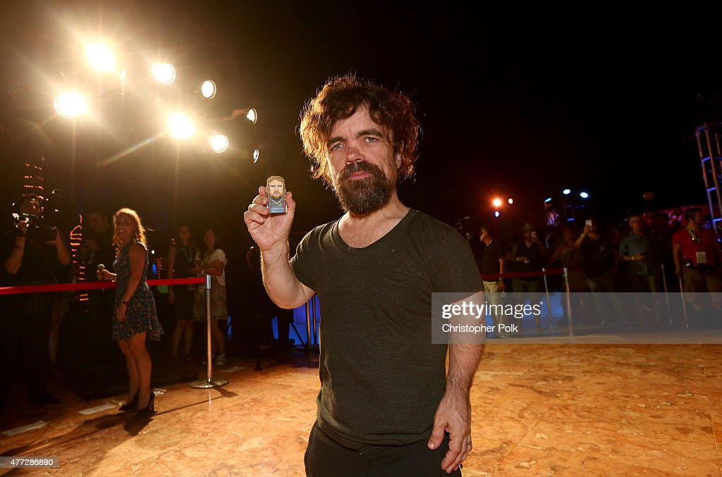 Actor Peter Dinklage attends the 'Pixels' photo call during Summer Of Sony Pictures Entertainment 2015 at The Ritz-Carlton Cancun on June 15, 2015 in Cancun, Mexico. #SummerOfSonyPictures #PixelsMovie