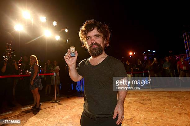 """Actor Peter Dinklage attends the """"Pixels"""" photo call during Summer Of Sony Pictures Entertainment 2015 at The Ritz-Carlton Cancun on June 15, 2015 in..."""