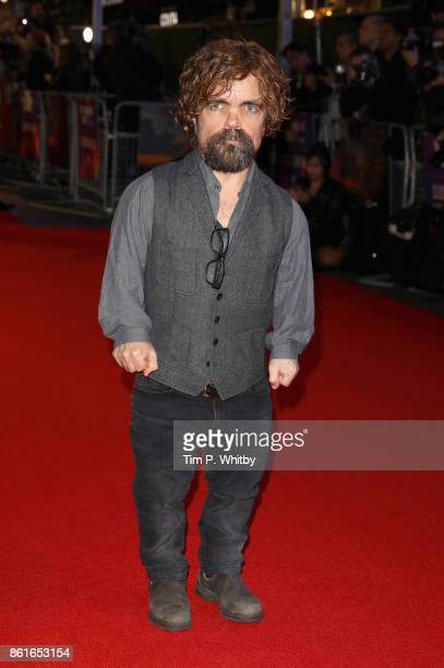 Actor Peter Dinklage attends the UK Premiere of 'Three Billboards Outside Ebbing Missouri' at the Closing Night Gala of the 61st BFI London Film...