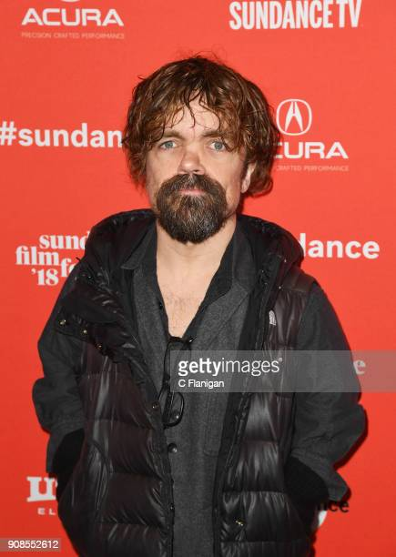 Actor Peter Dinklage attends the 'What They Had' Premiere during the 2018 Sundance Film Festival at Eccles Center Theatre on January 21 2018 in Park...