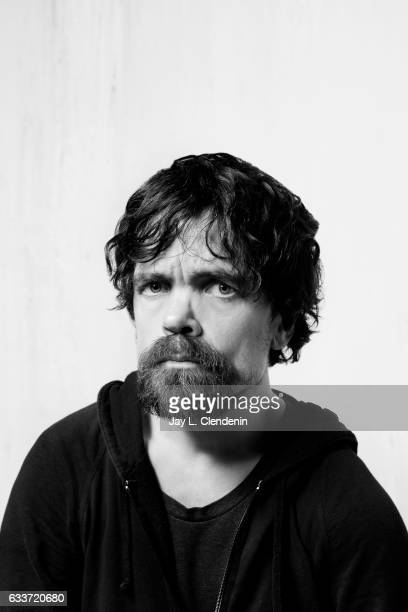 Actor Peter Dinklage from the film Rememory is photographed at the 2017 Sundance Film Festival for Los Angeles Times on January 23 2017 in Park City...